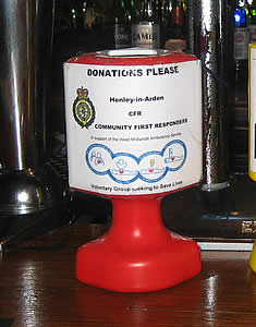 Henley CFR Donations Shaker